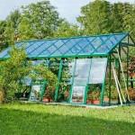 Zahradní skleníky a jejich druhy